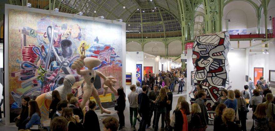 Take a trip to the latest in contemporary art with FIAC