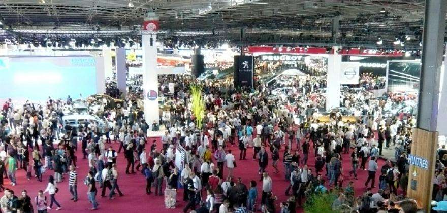 Le mondial de l'Automobile 2014, à Paris