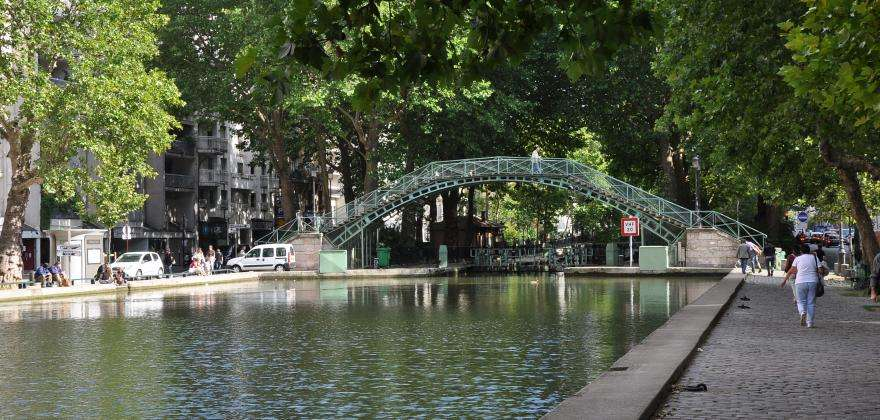 The Canal Saint-Martin; trendy and authentic