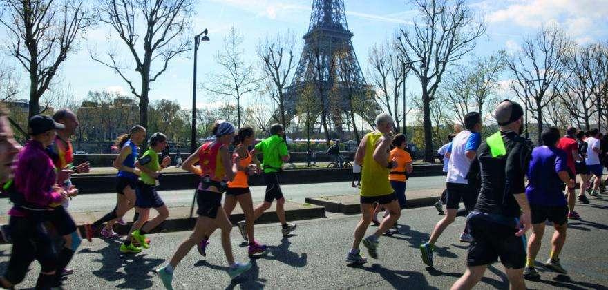 Marathon de Paris : admirer la capitale à chaque foulée