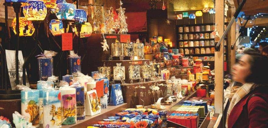 Faites votre shopping de Noël dans la capitale