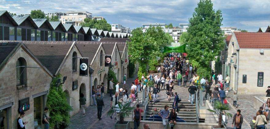 You can find everything in Bercy Village; shopping and more