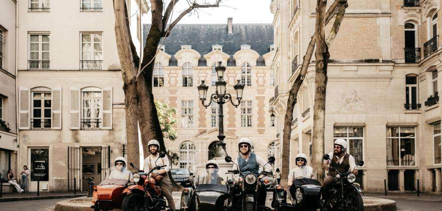 Ride a 2CV or sidecar and see a different side of Paris