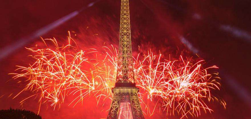 Come and celebrate Bastille Day in Paris