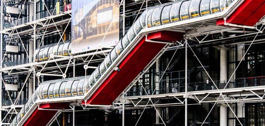 Centre Pompidou, l'épicentre de la vie parisienne