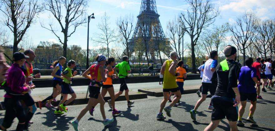 The Paris Marathon; admire the capital at every stride