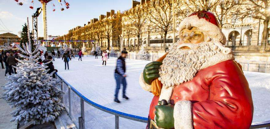 Christmas in Paris; the City of Light celebrates