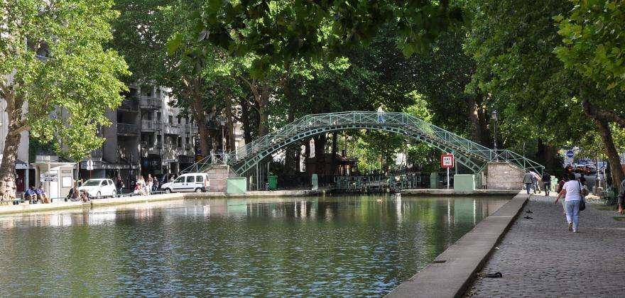 Le Canal Saint-Martin, tendance et authentique