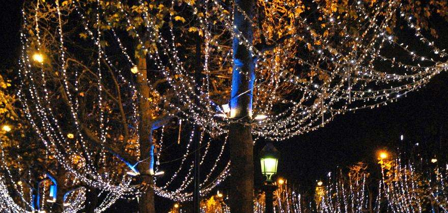 Experience the magical atmosphere of Christmas in Paris
