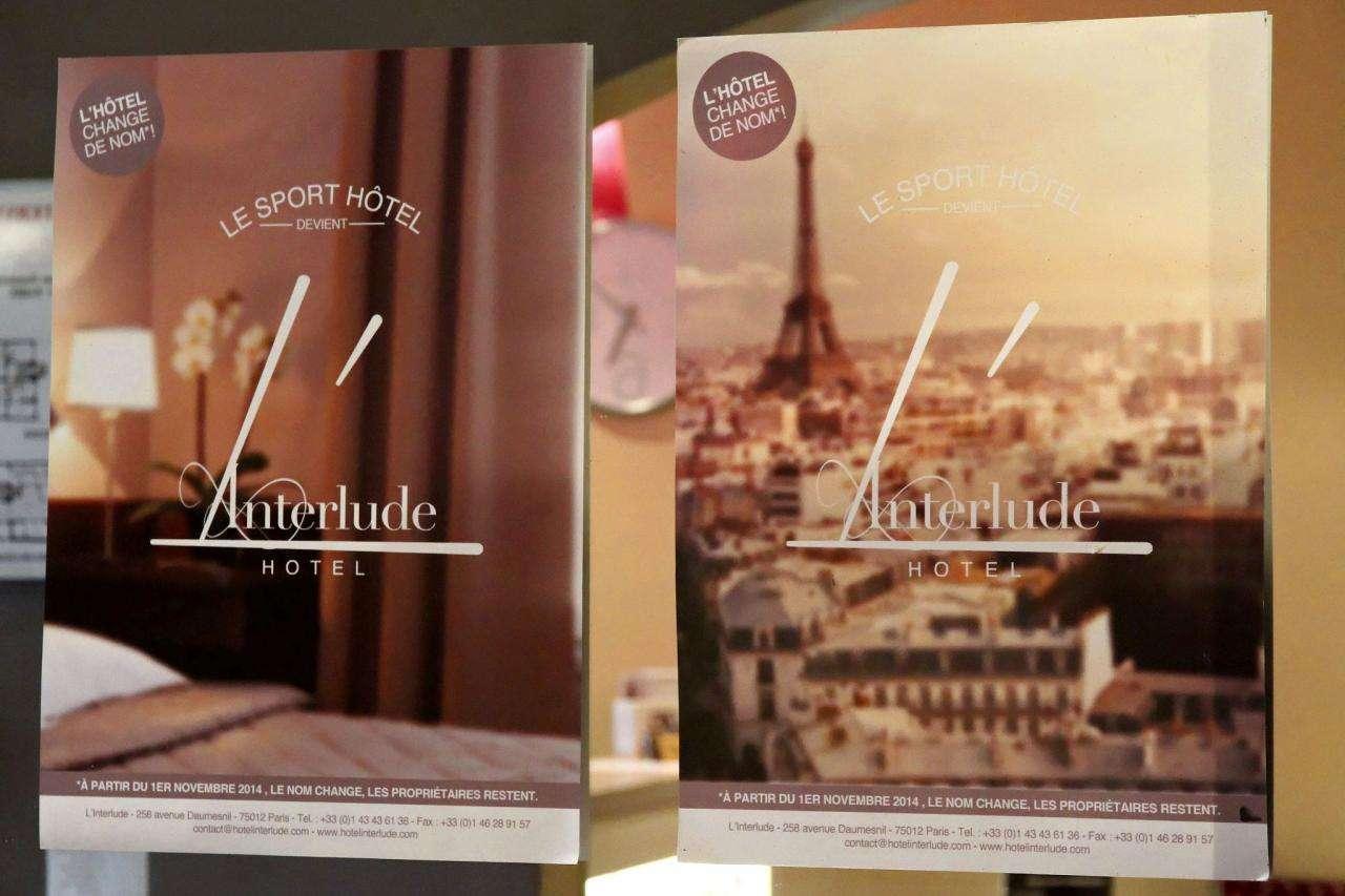 Hôtel L'interlude - Réception